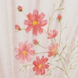 白竹堂 誕生花扇子 バースデーフラワー 繊細で美しいイラスト。