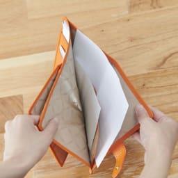イタリア製通院用ウォレット(お薬手帳入れ) GIUDI/ジウディ A5サイズまで収納でき、仕切り付き。処方箋やお札を入れても便利。