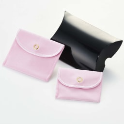 ファッションクリップ&マスクアクセサリー おしゃれなパッケージ入りでプレゼントにもおすすめ。※ピンクの袋は1つのみ付属します