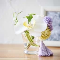 胡蝶蘭マジックウォーターミニ供花 水やり不要のアーティフィシャルフラワーなので、お手入れ簡単で長く美しさを保ちます。