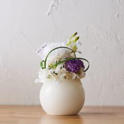 灯る仏花(R) タイマーライト付き 背面まで美しいつくり