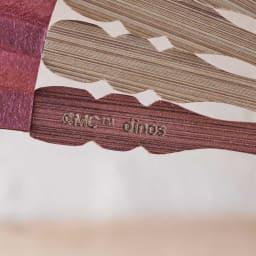 【お名前オーダー】ムーミン切り絵京扇子 ディノスでしか手に入らない、ディノスオリジナルデザインです。