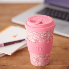 Ecoffee Cup/エコーヒーカップ 容量400ml ウィリアム・モリス柄 1個 写真
