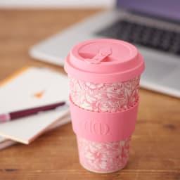 Ecoffee Cup/エコーヒーカップ 容量400ml ウィリアム・モリス柄 1個 (ア) Poppy
