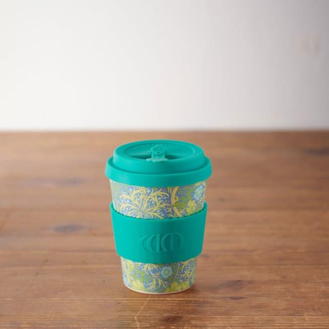 Ecoffee Cup/エコーヒーカップ 容量355ml ウィリアム・モリス柄 1個 (エ)Wandle オフィスや書斎などのマイカップとして