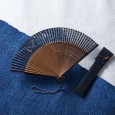 京扇子 巧美 吉小紋 とんぼ(紳士用)