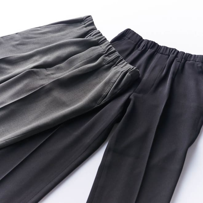 腰総ゴムくつろ着スラックス 紳士用 老舗フォーマルウェア会社<カインドウェア>が提案する、さらっとした履き心地が特徴のウエスト楽々パンツ