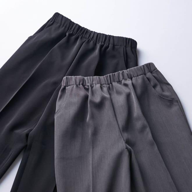 カインドケア/くつろ着パンツスタンダード 婦人用 老舗フォーマルウェア会社<カインドウェア>が提案する、さらっとした履き心地が特徴のウエスト楽々パンツ