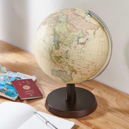 SHOWAGLOBES アンティーク地球儀 26cm アンティーク調のおしゃれな地球儀。