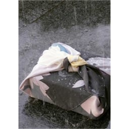 濡れない はっ水風呂敷 薄墨桜 突然の雨…でもはっ水風呂敷だから、大丈夫!