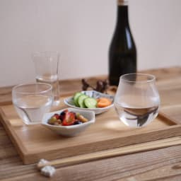 クラフト酒グラス 三種揃 使用イメージ