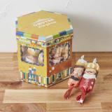 【出産祝い】おむつBOX フォトフレーム付 写真