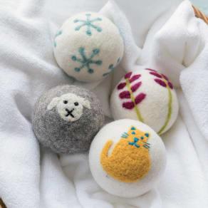エベレストファッション 乾燥機ウールボール4個セット 写真