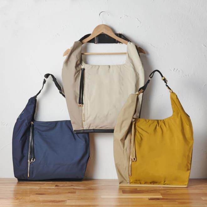 ファビオ はっ水 軽量 肩掛けバック 軽量・はっ水・大量収納を備えた便利なバッグ