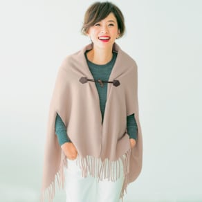 毛布屋さんが作ったespoir肌ざわりここちよいショール 写真