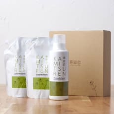 カミツレン入浴剤ギフト ボトル&詰替2袋