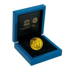 ユネスコ75周年記念世界遺産コインシリーズ50ユーロ オリンピア 金貨