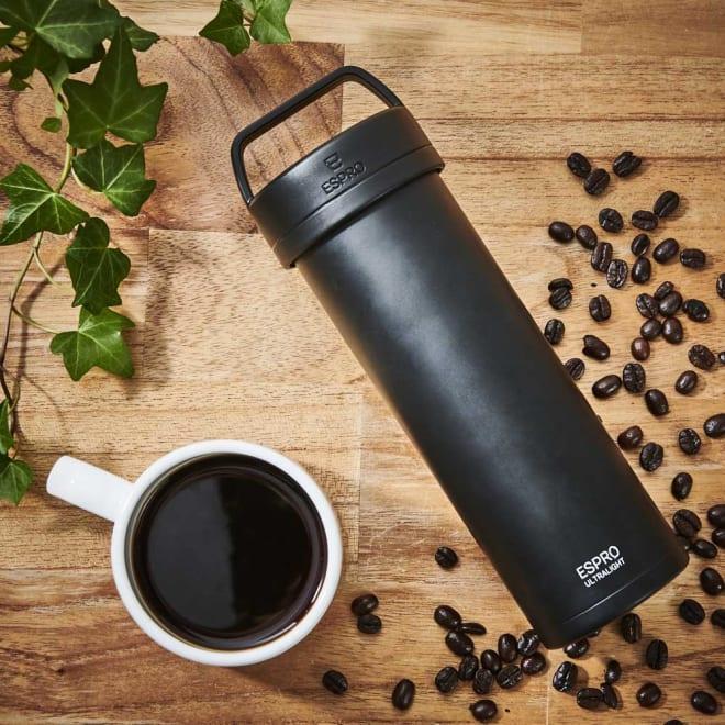 ウルトラライトコーヒープレスボトル いつでも美味しいコーヒーを。