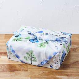 濡れないはっ水風呂敷 TOWN 通常の風呂敷と同じように使用できます。