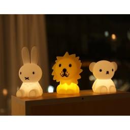 ミッフィーミニライト ほんのり光って、お子様のナイトライトとしてもおすすめ。インテリアとしても可愛い!