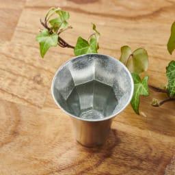 八角アペリティフカップ 銀雅堂 1個 縁起の良い八角が浮かび上がります