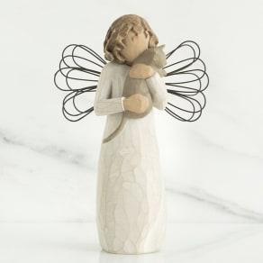 ウィローツリー天使像 With Affection 愛をこめて 写真