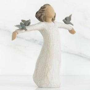 ウィローツリー彫像 Happiness 幸せ 写真