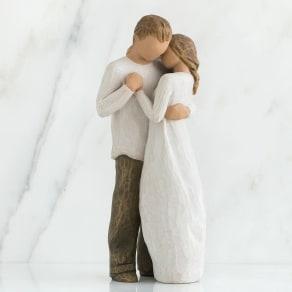 ウィローツリー彫像 Promise 約束 写真