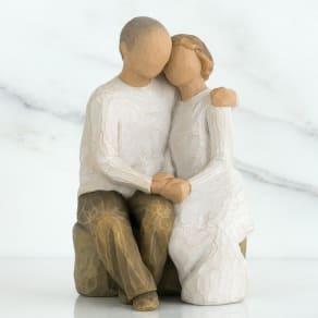 ウィローツリー彫像 Anniversary 二人の記念日 写真