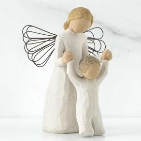 ウィローツリー天使像 Guardian Angel 守護天使 写真