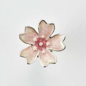 SATURNO/サツルノ SVピンブローチ桜 写真