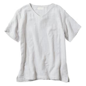 マシュマロガーゼ メンズルームウェアTシャツ 写真