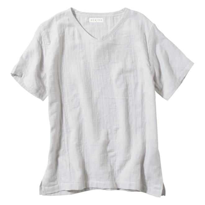 マシュマロガーゼ メンズルームウェアTシャツ