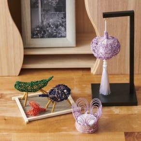 木下水引 お盆飾りセット(小) 写真