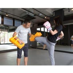 体を動かす楽しみギフト 【体験例】キックボクシング