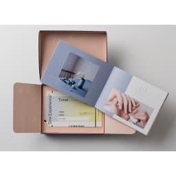 『Relax Gift(BLUE)』/リラックスギフト ブルー 冊子にメッセージを込めました