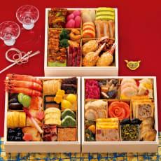 【特典付き】ハイアットリージェンシー東京 和洋中おせち「香寿」 和洋中3段重(約3~4人前) 全43品