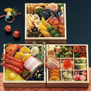 博多 日本料理 てら岡「天豊」 和3段重(約2~3人前) 全33品 写真