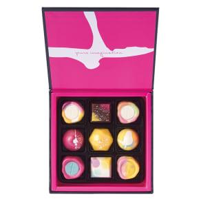 「ジャニス・ウォン」チョコレートボックス 9個 【通常お届け】 写真