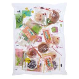 10種のひとくち和菓子(290g) 8袋 お届けパッケージ