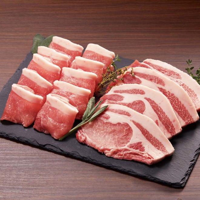 米澤豚一番育ち ロースセット(焼き肉用500g・とんかつ用400g)