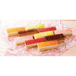 5種のおもてなしムース(各2個)×2セット 盛り付け例