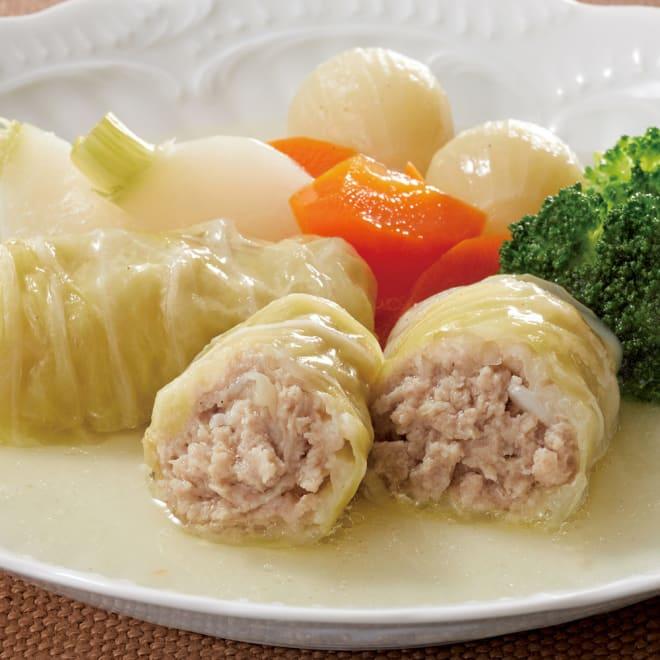 新潟産三元豚のロールキャベツ 240g(4個入)x2袋 【調理例】