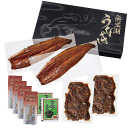 浜松・浜名湖産うなぎ 蒲焼きセット(肝焼き付き) お届けパッケージ