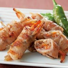 国産野菜のきんぴらの豚肉巻き 128g(8本入り)×2袋