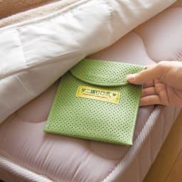 日革研究所製「ダニ捕りロボ」 ラージサイズ 5枚組(ソフトケース大5枚付き) ベッドと寝具の間に。