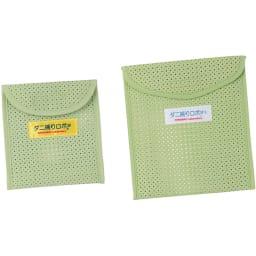 日革研究所製「ダニ捕りロボ」 ラージサイズ 5枚組(ソフトケース大5枚付き) 左:レギュラーサイズ 右:ラージサイズ