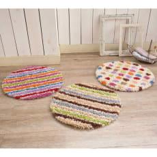 スペイン製ウィルトン織りラグ〈ロッタ〉