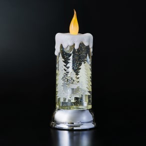 〈ハルモニア〉 スノーキャンドル LEDライト 写真
