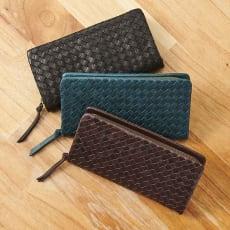 なめし仕上げの馬革小物シリーズ 財布